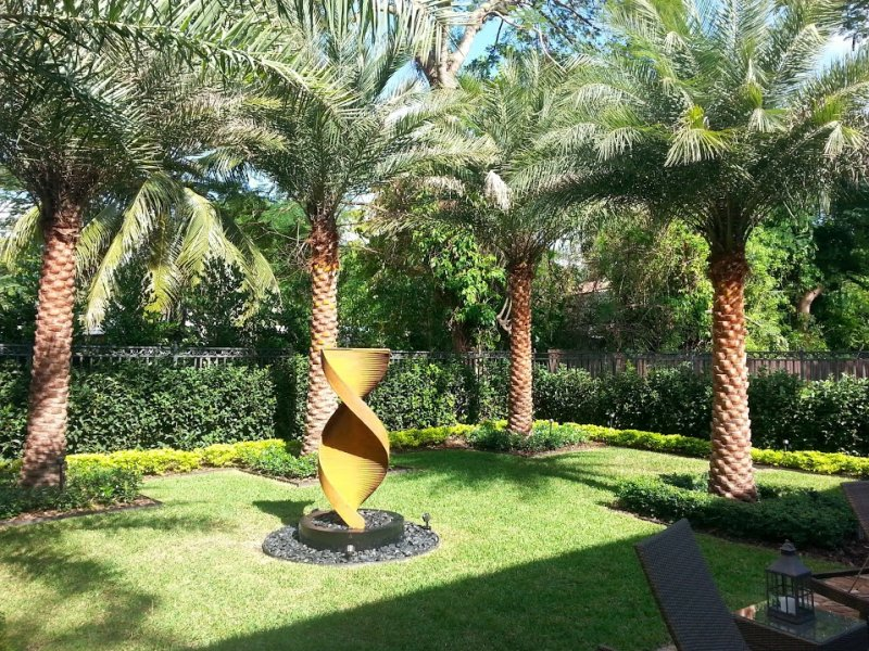 Before after landscaping gallery for Landscape design miami