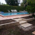 Cortada Landscape Design | Oolite Retaining Wall in Miami Beach, FL