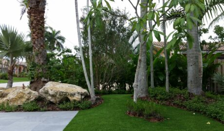 Cortada Landscape Design | Fort Lauderdale Artificial Turf |Residential Project
