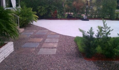 Cortada Landscape Design | Hardscape | Residential Landscaping Project | Miami Shores, FL