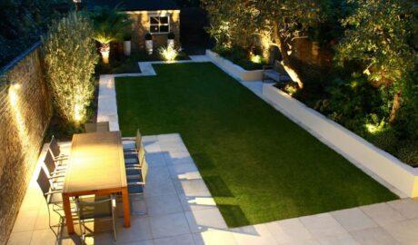 Outdoor Garden Lights - Cortada Landscape Design - Miami FL